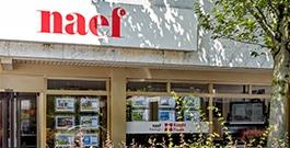 Naef Immobilier Genève</br>Arcade de vente
