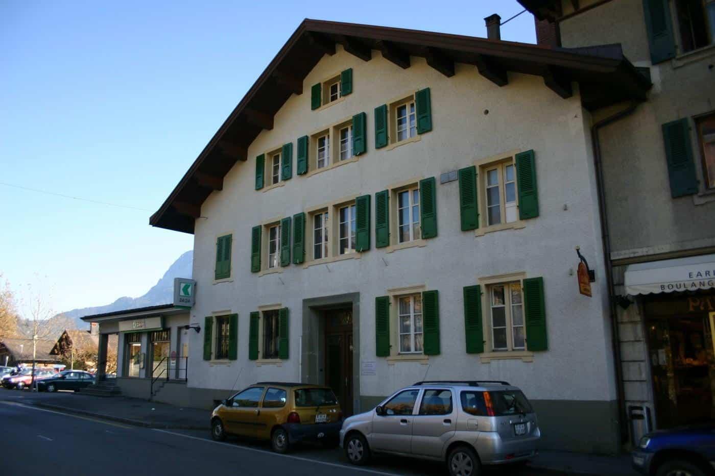 À louer : Parking  Château-d'Oex - Ref : 15498 | Naef Immobilier