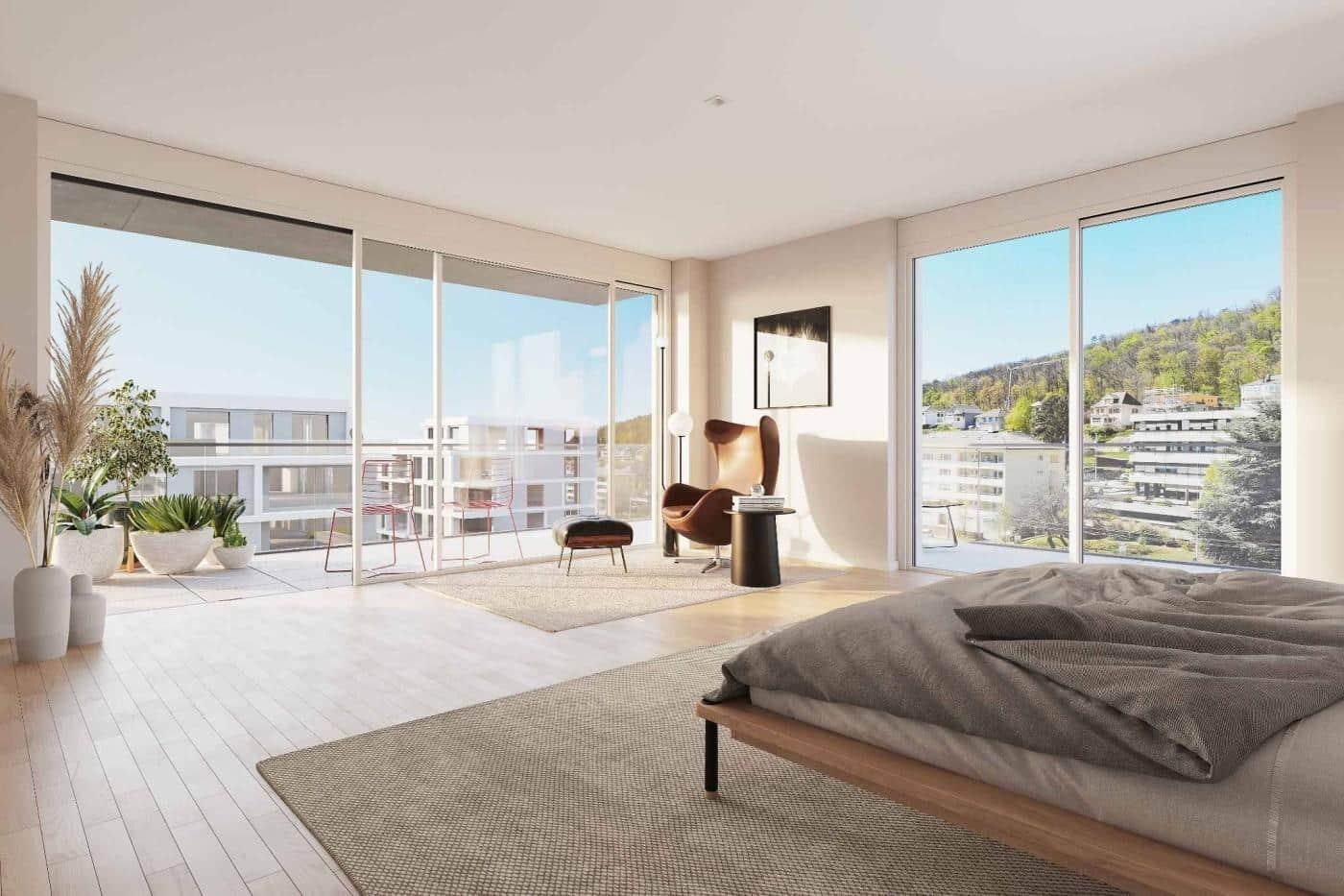 À vendre : Appartement 2 chambres Neuchâtel - Ref : 34707 | Naef Immobilier