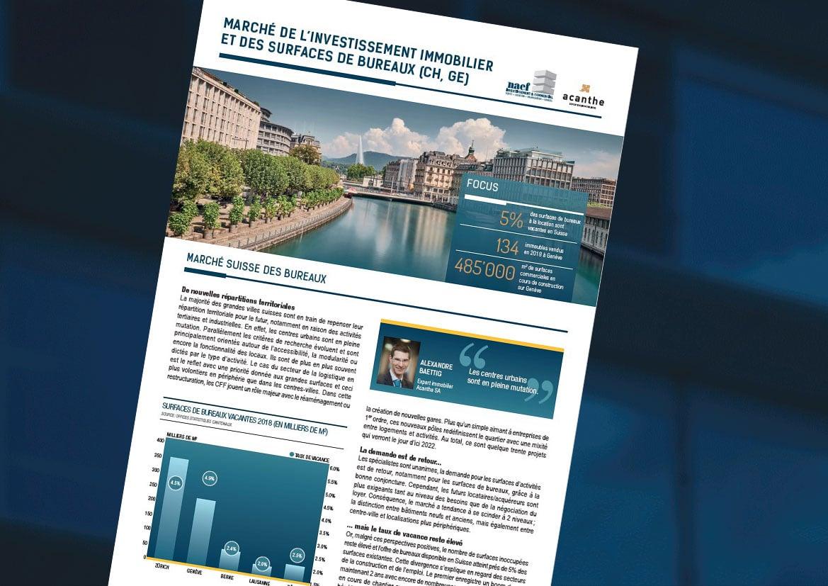 Newsletter Investissement & Commercial 2019