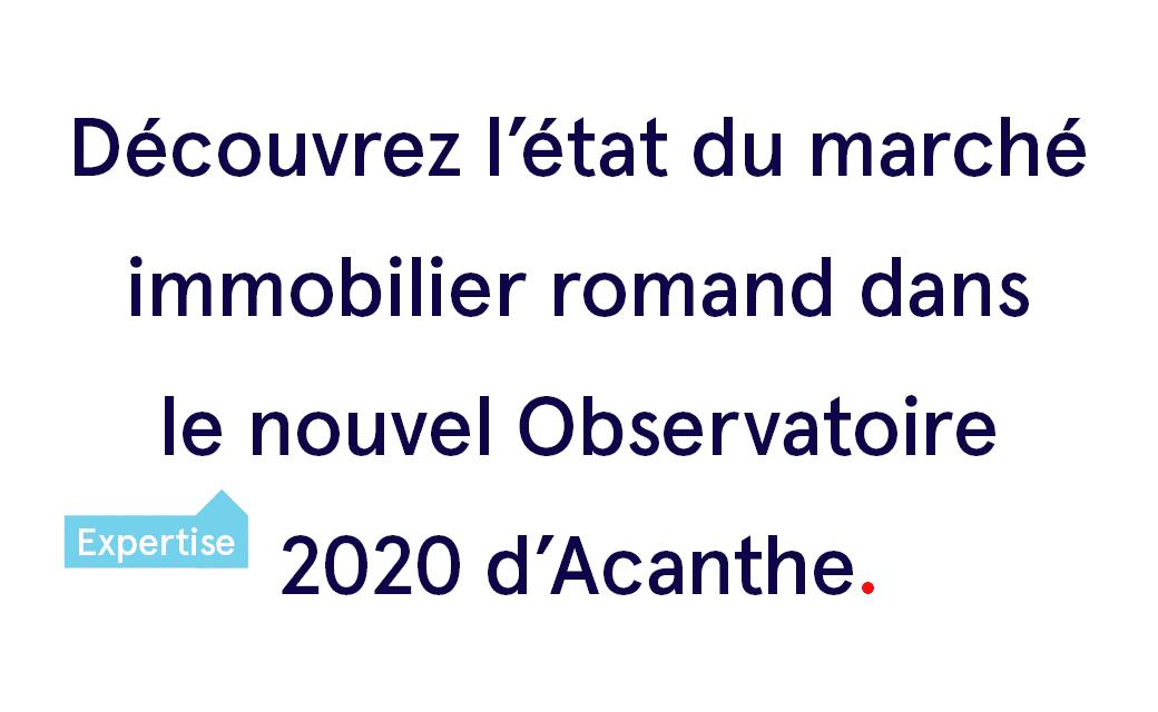 Les journaux parlent de l'Observatoire 2020 d'Acanthe