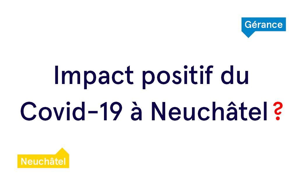 Le journal Arcinfo parle de l'impact du Covid-19 à Neuchâtel