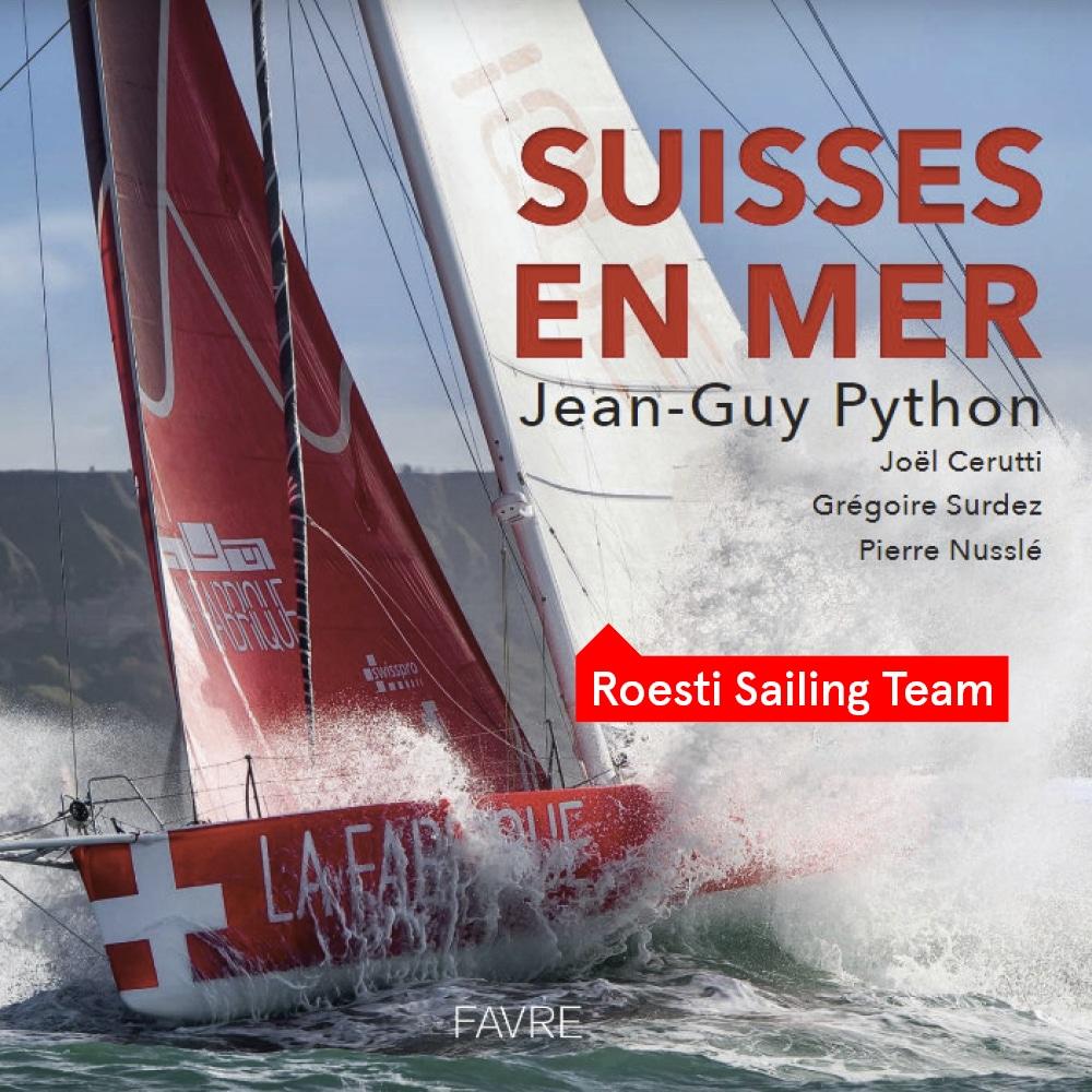 Retrouvez notre Roesti Sailing Team dans le livre «Suisses en mer»
